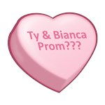 Ty & Bianca Prom???