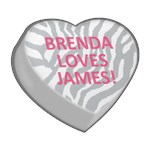 BRENDA LOVES JAMES!