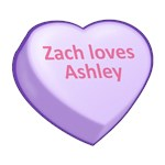 Zach loves Ashley