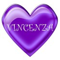 Purple Jelly Heart - VINCENZA