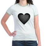 Heart of Stone Anti Valentine's Day Jr. Ringer T-S