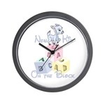 Boy New Kid on the Block Wall Clock