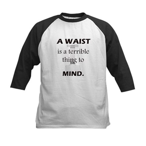 Waist Terrible Thing to Mind Kids Baseball Jersey