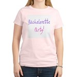 Bachelorette Party2 Women's Pink T-Shirt