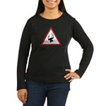 Heavy Precipitation Women's Long Sleeve Dark T-Shirt