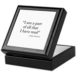 Keepsake Box : Sizes   Available colors: Mahogany,Black