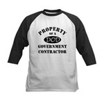 Property of a DOD Government Contractor Kids Baseb