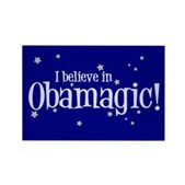Here's a perfect design for Barack Obama supporters. The Dem from Illinois is running for President. The political sensation has something special - is it magic? Believe in Barack Obama - Obamagic!