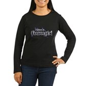 I Believe in Obamagic Women's Long Sleeve Dark Tee