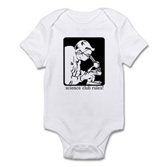 Science Club Rules Infant Bodysuit