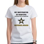 National Guard - My Boyfriend Women's T-Shirt