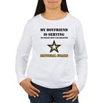 National Guard - My Boyfriend Women's Long Sleeve