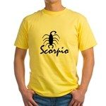 Scorpio Yellow T-Shirt