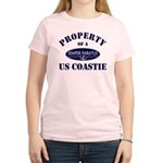 Property of US Coastie Women's Light T-Shirt