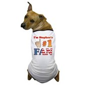 I'm Stephen's #1 Fan Dog T-Shirt