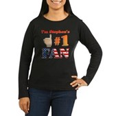 I'm Stephen's #1 Fan Women's Long Sleeve Dark Tee