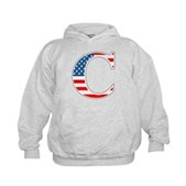 C stands for Colbert Kids Hoodie