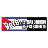 Support Colberto Reporto Gigante's Esteban Colberto for Presidente of Cuba. Once Stephen Colbert's rival, now his choice for Cuba & the 51st state. Who better to follow Castro but un águila de verdad?