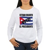 Voto! Esteban Colberto Women's Long Sleeve T-Shirt