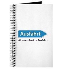 All roads lead to Ausfahrt Journal