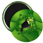 Save the Rainforest Magnet