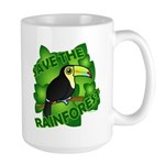 Save the Rainforest Large Mug