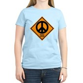 Peace Ahead Women's Light T-Shirt