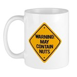 May Contain Nuts! Mug