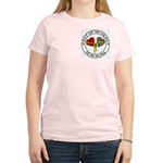 Part of my Heart is in Iraq OIF Women's Light T-Sh