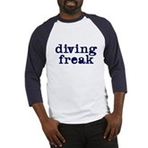 Diving Freak Baseball Jersey
