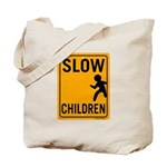 Slow Children Tote Bag