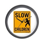 Slow Children Wall Clock