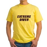 Extreme Diver Yellow T-Shirt