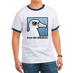 Save the Albatross (close-up) Ringer T
