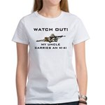 Watch Out! Military Uncle M-4 Women's T-Shirt