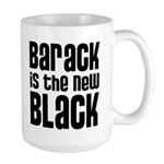Barack is the New Black Large Mug