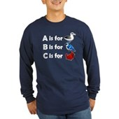 B is for Birdorable Long Sleeve Dark T-Shirt