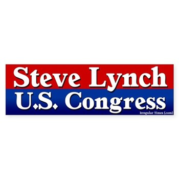 Re-Elect Steve Lynch to Congress bumper sticker