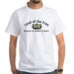 FRG OIF Operation Iraqi Freedom White T-Shirt