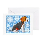 Holiday Beagle Greeting Cards