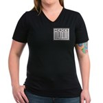 Heroes Priceless Support Our Troops Women's V-Neck