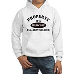Property of a HARDCORE US Army Soldier Hooded Swea