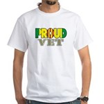 Proud Vietnam Veteran Vet White T-Shirt