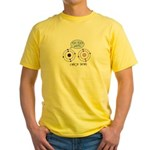 Carbon Dating Yellow T-Shirt
