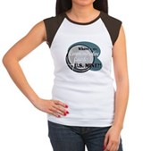 Where's My Quarter? Women's Cap Sleeve T-Shirt