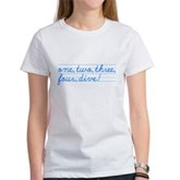 1,2,3,4,DIVE! Women's T-Shirt