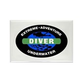 Diver Rectangle Magnet