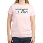 MSG - Proud of my soldier Women's Pink T-Shirt