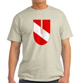 Scuba Flag Letter U Light T-Shirt