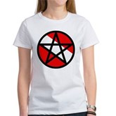Scuba Flag Pentagram Women's T-Shirt